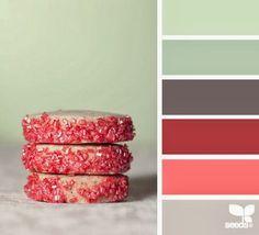 Paleta de colores: postres.