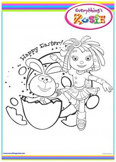 everythings rosie coloring book pages - photo#20