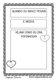 PROJETO IDENTIDADE - MEU ÁLBUM DE IDENTIDADE PARA EDUCAÇÃO INFANTIL COM 15 PÁGINAS! - ESPAÇO EDUCAR Professor, Letters, How To Plan, School, Children, Creative Activities For Kids, Letter G, Art Classroom, Note Cards