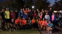 Finalizamos la jornada con un gran entrenamiento de técnica de carrera con los grupos Lumi y LAN