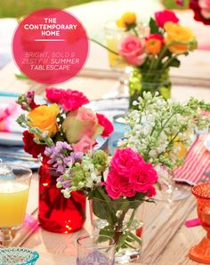 A Bright, Bold & Zesty Summer Tablescape – Bright.Bazaar
