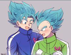 Goku e Vegeta Chibi Goku, Goku E Vegeta, Dbz, Son Goku, Dragon Ball Z, Goku Pics, Ball Drawing, Amazing Spiderman, Character Design