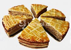 Recept na tradiční židovský moučník. Cannoli, Graham, Pudding, Cookie Cups, Jewish Recipes, Cookies Et Biscuits, Love Food, Waffles, French Toast