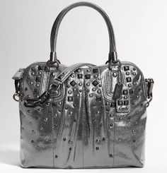made by coach. obsession since aug 2011. Studded Purse, Studded Leather,  Coach b8aae9edf6