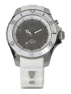 KYBOE! Reflector White Silicone & Stainless Steel Strap Watch/48MM. #kyboe! #watch/48mm