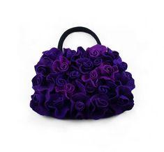 Drops feutrés sac sac sac sac feutré soie laine Merino par filcant, $259.00
