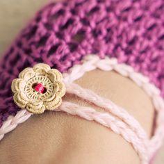 crcrochet slippers tutorial