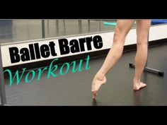 Barre - Get A Dancer's Barre Body. This Barre Body workout helps tone your entire body by combining yoga, pilates, and ballet barre. It's a workout for the body and soul. Great for beginners. Ballet Barre Workout, Barre Workouts, Dancer Legs, Pilates Barre, Barre Body, 30 Minute Cardio, Sup Yoga, I Work Out, Excercise