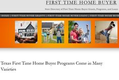 If you're looking to buy your first home in Texas, we have all the contact information for every program available to TX residents. There's programs at the federal, state and local level available to help with the down payment and closing costs and other expenses of buying your first residence. Simply click the image above to visit the website.