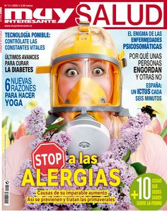 Ya puedes encontrar el nuevo Muy Salud en tu kiosco... ¡Pon Stop a las alergias!