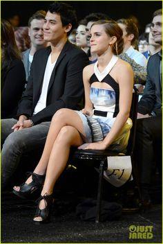 Emma Watson 2013 MTV Movie Awards authentic magazine