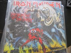 Iron Maiden's classic Number of the Beast is not quite as beastly with googly eyes.   Putting Googly Eyes On Heavy Metal Albums Makes Them A Lot Less Scary