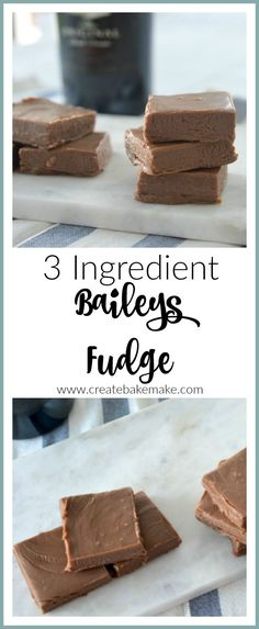 I have a feeling you are going to LOVE this 3 Ingredient Chocolate Baileys Fudge! This Baileys Fudge recipe is my second experiment with the MASSIVE bottle Baileys Fudge, Chocolate Baileys, Easy Chocolate Fudge, Baileys Recipes, Fudge Recipes, Candy Recipes, Baileys Drinks, Sweet Recipes, Cookie Recipes