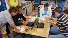 Workshops CodeKinderen tijdens de ATO Innovation 2014 dag. In iedere workshop zo'n 20 docenten. En dat drie maal die dag. 10 september 2014.