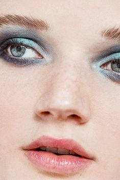 stunning blue smoky