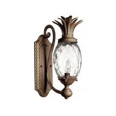 Light Wall Sconce Art Deco Bronze Rustic Lamp Vintage Outdoor Garden Decoration #Rustic