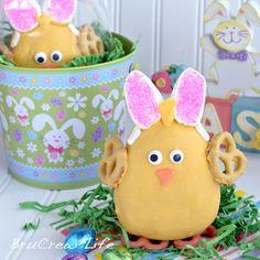 Peanut Butter Easter Chicks.