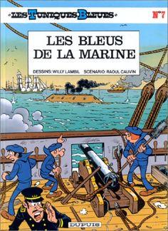 Les Tuniques bleues, tome 7 : Les Bleus de la marine de Willy Lambil http://www.amazon.fr/dp/2800108649/ref=cm_sw_r_pi_dp_s1dHub02K0EZ8