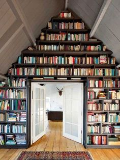 Wouldn't mind this, complete with antlered mount in background. Also, books.