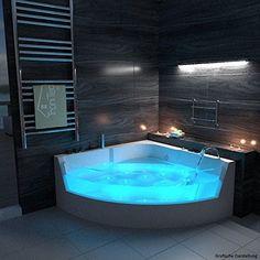 TroniTechnik LUXUS Whirlpool Badewanne Wanne Jacuzzi Spa in Kirchlengern - Deko-Ideen Dream Home Design, Modern House Design, Home Interior Design, Design Interiors, Dream Bathrooms, Dream Rooms, Luxury Shower, Luxury Spa, Luxury Pools
