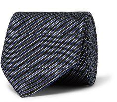 Pin for Later: 50 kreative (& teils auch ganz praktische) Geschenkideen für Papa  Paul Smith gestreifte Krawatte aus Seide (115 €)