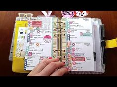 Where To Write Things in a Planner (KikkiK, Filofax, Travelers Notebook) - YouTube
