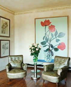 Art Department - Photography - Christopher Sturman Mulberry Home, London House, Classy Chic, Accent Chairs, Interior Design, Photography, Painting, Furniture, Country Living