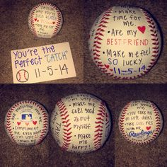 Gift idea for baseball boyfriend...