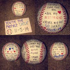 Gift idea for baseball boyfriend...