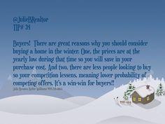 Winter #HouseShopping @JulieBRealtor