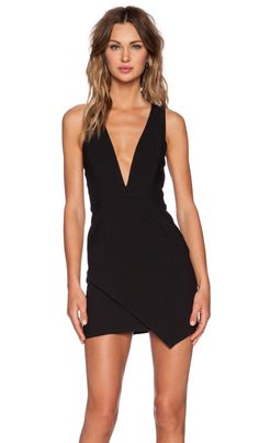 NBD x Naven Twins Dreaming Bodycon Dress in Black | REVOLVE