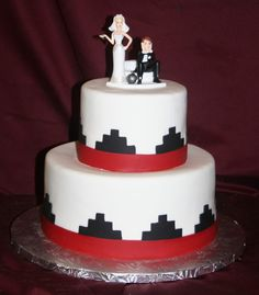 native american wedding cakes   ABC Cake Shop and Bakery: Native American 2 Tier Wedding Cake