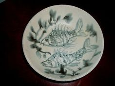 Andersen-Design-Signed-Art-Pottery-Boothbay-Maine-7-inch-Soup-Bowl-Two ...