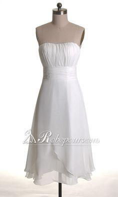 Elegante Robe de Soiree Longueur Ras de Sol Une Bretelle Fleur RDC200