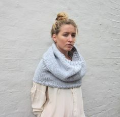 The Cloud No 9 Snood by louisedungate on Etsy, $100.00