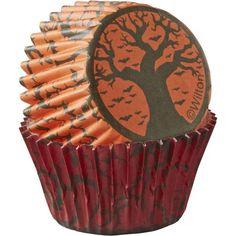 Spooky Halloween Mini Baking Cups