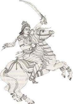 Hindu God - Avataras of Vishnu (Incarnations) Black Canvas Paintings, Indian Art Paintings, 3d Art Drawing, Cool Art Drawings, Indian Folk Art, Indian Artist, Outline Art, Charcoal Art, Ganesha Art