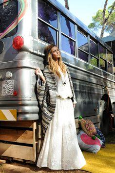 Look Yulenka Dress y Nika Jacket Boho Chic, Jackets, Dresses, Fashion, Vestidos, Fall Winter, Down Jackets, Moda, Fashion Styles