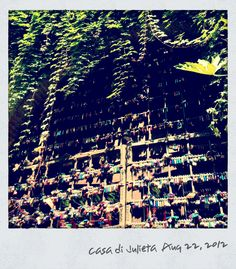 Juliet's house, Verona --- Love locks all over <3