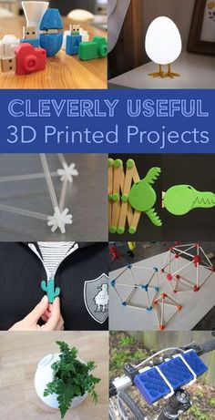 14 projects that are fun, useful, and great for beginners! #3Dprinting #beginner3Dprinting