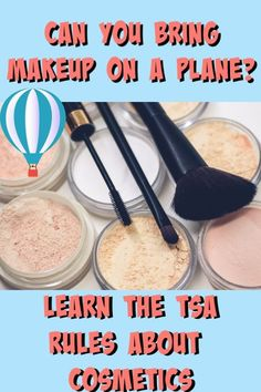 Can you bring makeup on a plane? You bet! But the rules are a little tricky. Learn everything you need to know here.