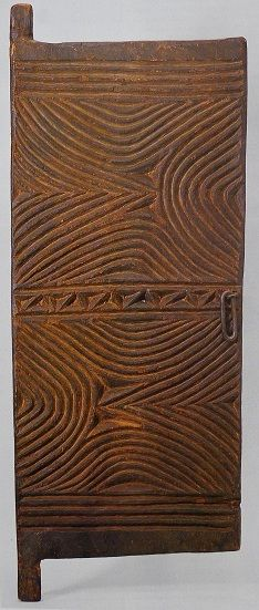 Door Igbo, Nigeria, wood, 112 × 43 × 4 cm British Museum, London