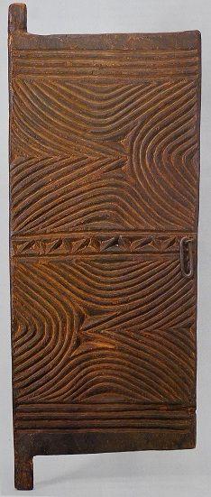Door Igbo, Nigeria, wood, 112 × 43 × 4 cm British Museum, London