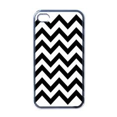 BLACK CHEVRON PATTERN iphone 4 4s case cover