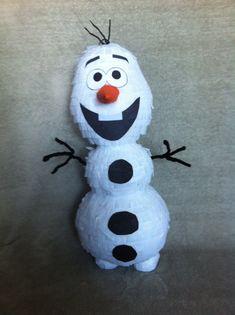 Piñata de muñeco de nieve por TheKidCorner en Etsy