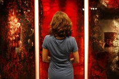 Jordan Eagles' new solo exhibition, HEMOGLYPHS, at Causey Contemporary Gallery in Williamsburg, Brooklyn