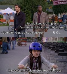 Ok, I have never seen this show but I think I need to because i almost spat some half-chewed banana all over my computer because I was trying not to laugh out loud at work. Psych Memes, Psych Tv, Psych Quotes, Tv Show Quotes, Movie Quotes, Best Tv Shows, Best Shows Ever, Favorite Tv Shows, Shawn Spencer
