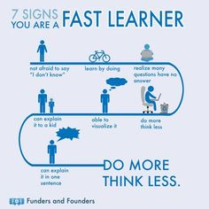 Signs of fast learners / was schnelles Lernen ausmacht Study Skills, Life Skills, Thinking Skills, Critical Thinking, Types Of Learners, School Study Tips, Learning Styles, Self Improvement Tips, Study Motivation