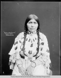 Sabrina MinThorn Cayuse Tribe