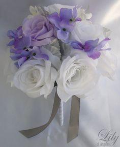 17 Piece Package Wedding Bridal Bride Maid Honor Bridesmaid